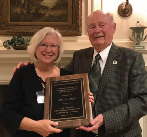 Nancy Little Honored With Michael Irish Award